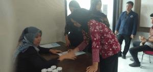 AKPINDO Adakan Sosialisasi Bahaya Penyalahgunaan Narkoba dan Test Urine Bagi Mahasiswanya