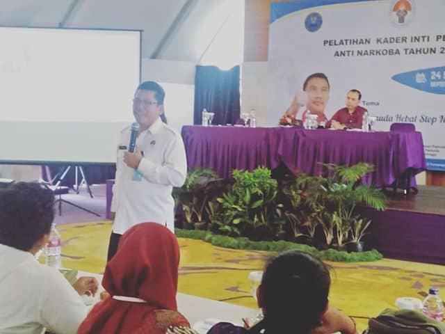 Giat Pelatihan Kader Inti Pemuda Anti Narkoba di Provinsi Bali
