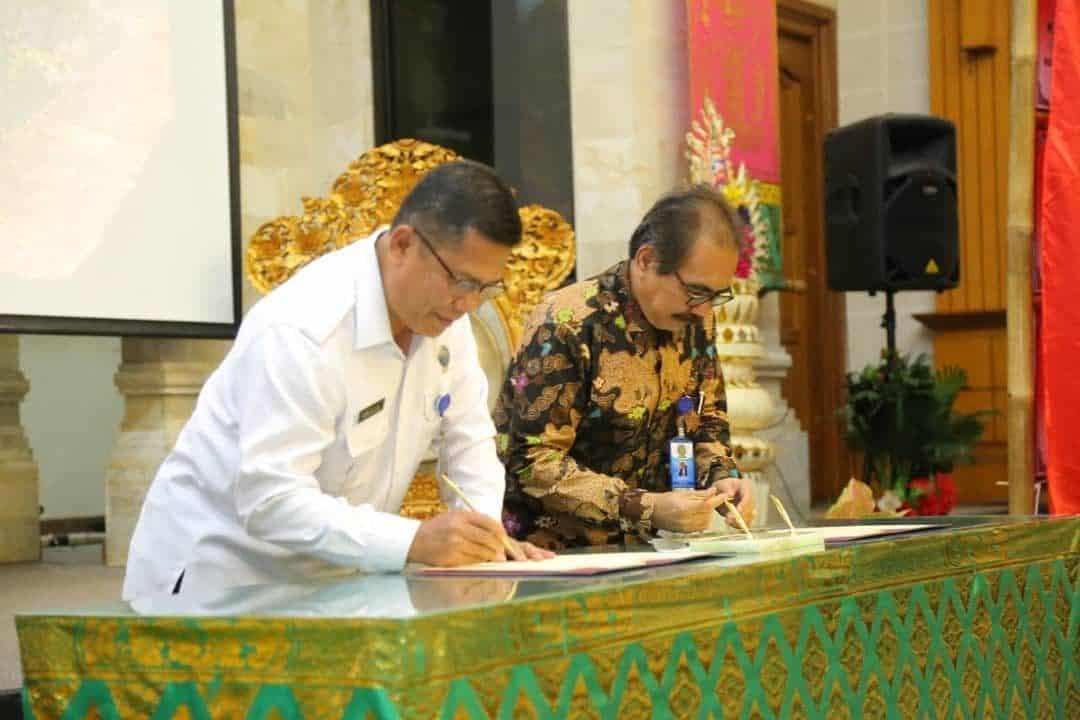 Penandatanganan Nota Kesepahaman antara BNN dengan Unsur Muspida Propinsi Bali dan Universitas Udayana Bali