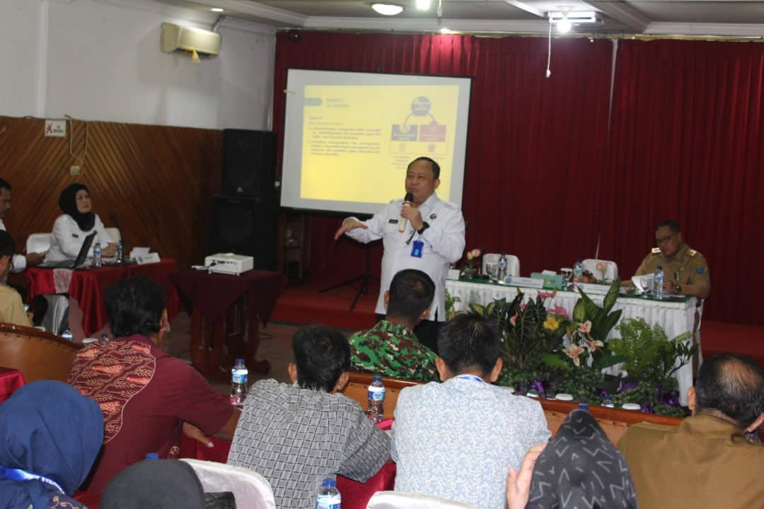 Direktur Pemberdayaan Alternatif BNN Melakukan Rapat Kerja dengan stakeholder di OKI