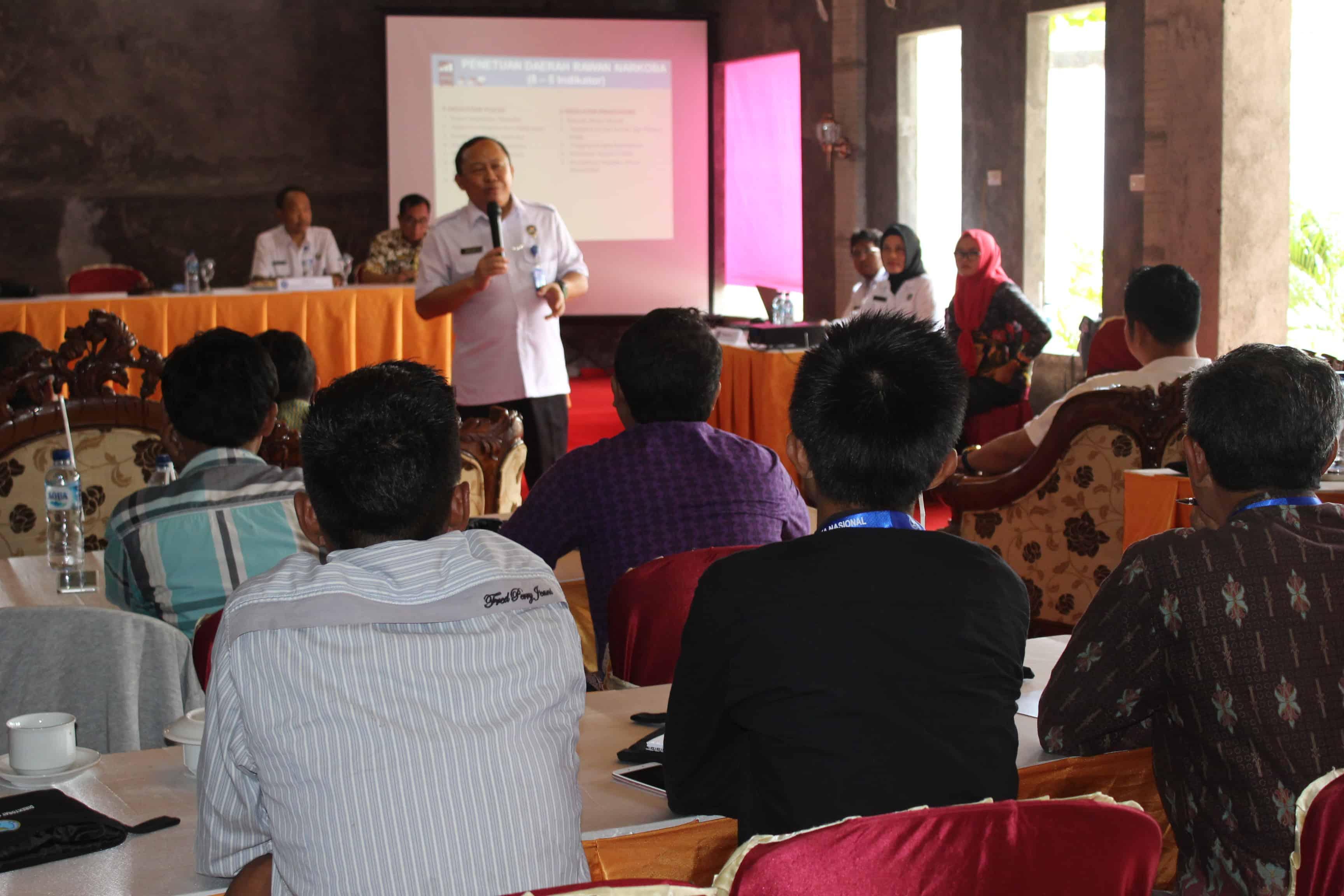 Direktorat Pemberdayaan Alternatif BNN Melaksanakan Rapat Kerja di Mesuji Lampung