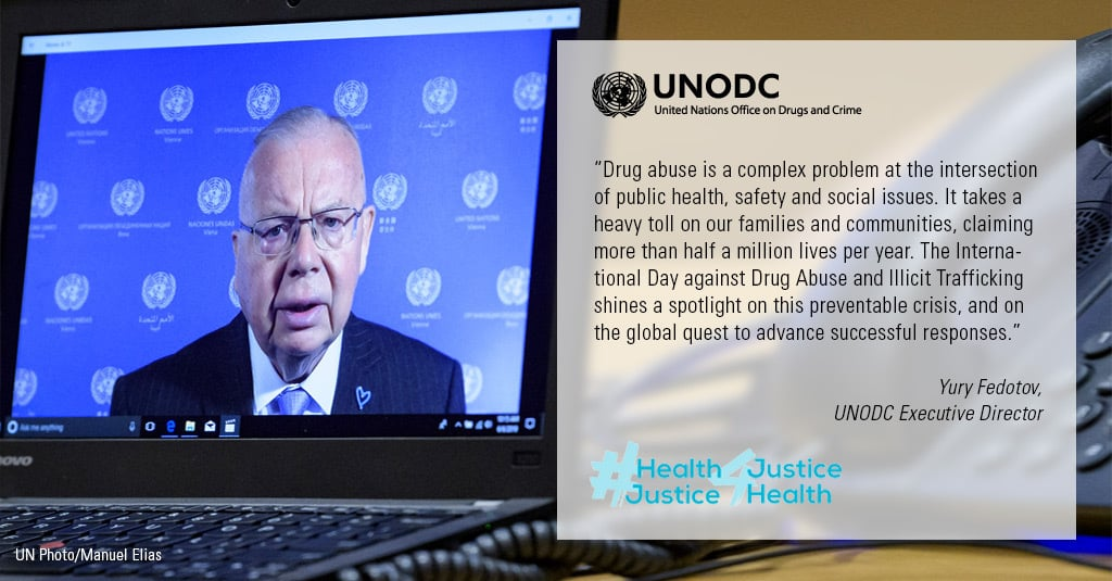 Statement of the UNODC Executive Director