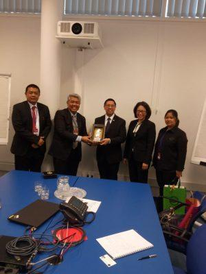 BNN Gelar Bilateral Meeting