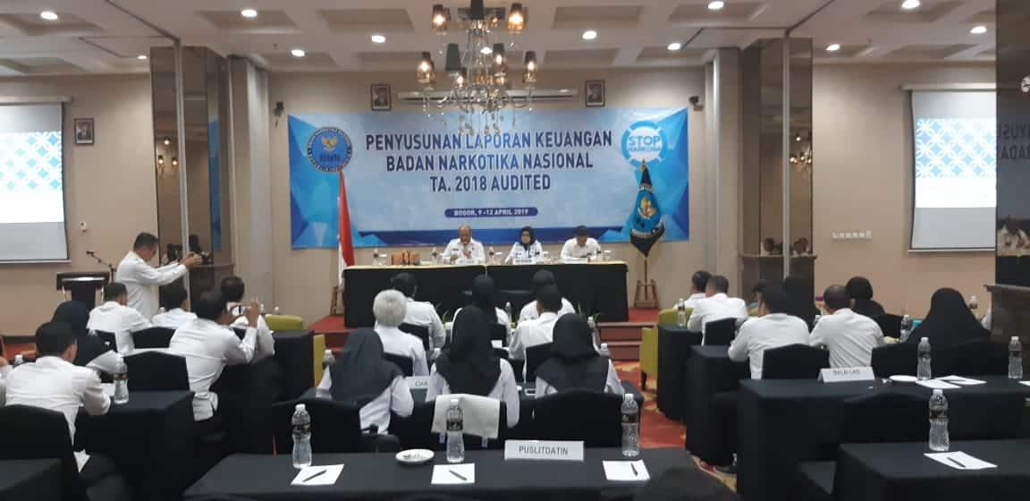 Penyusunan Laporan Keuangan BNN TA. 2018