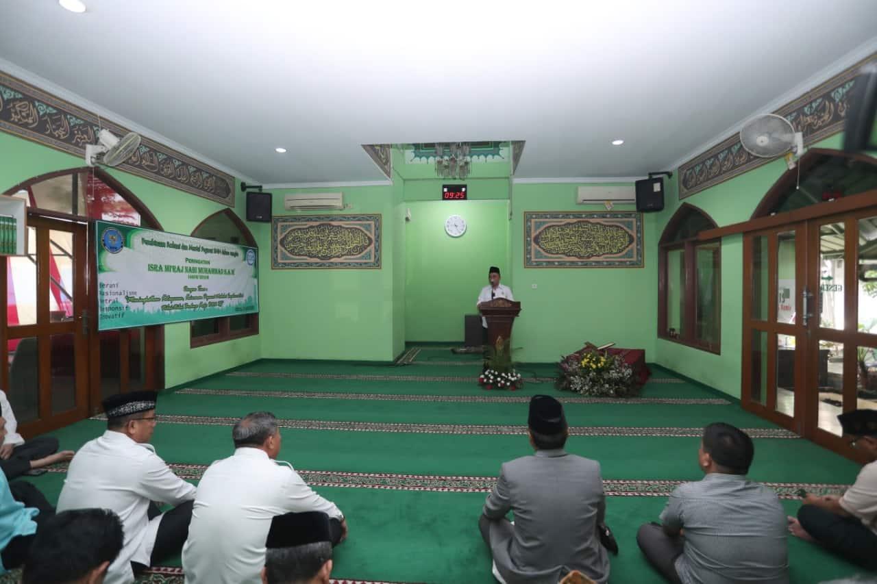 Peringatan Isra Mi'raj Tingkatkan Ketakwaan Personel BNN