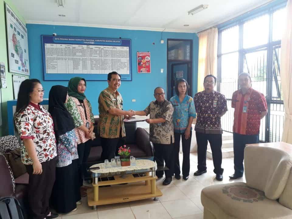 Audit TA. 2018 di BNNK Bangka Selatan