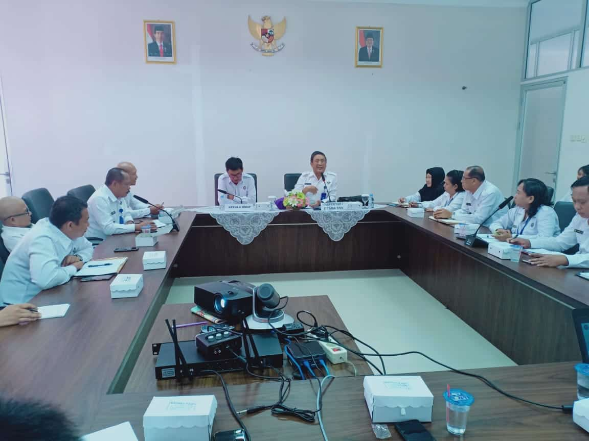Taklimat Awal Audit di BNN Provinsi Kalimantan Tengah