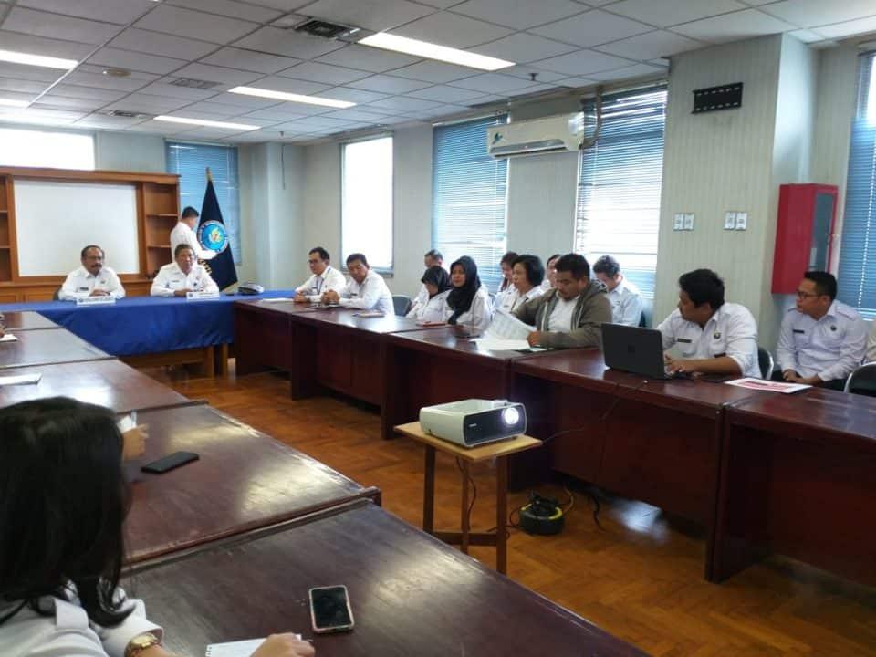 Taklimat Awal Audit TA 2018 di BNNP DKI Jakarta