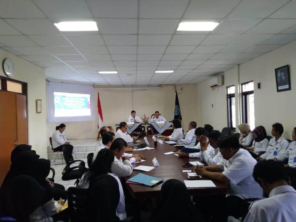 Taklimat Awal Audit TA. 2018 di BNNP Banten dan jajarannya