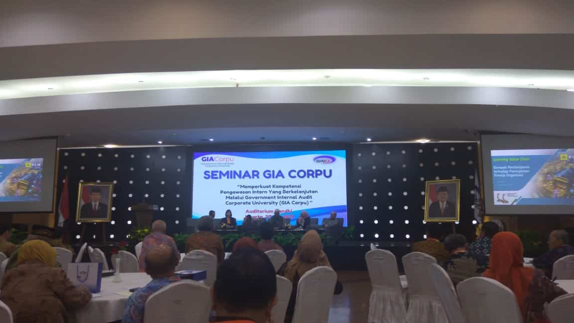 Seminar Government Internal Audit Corporate University (GIA CORPU)
