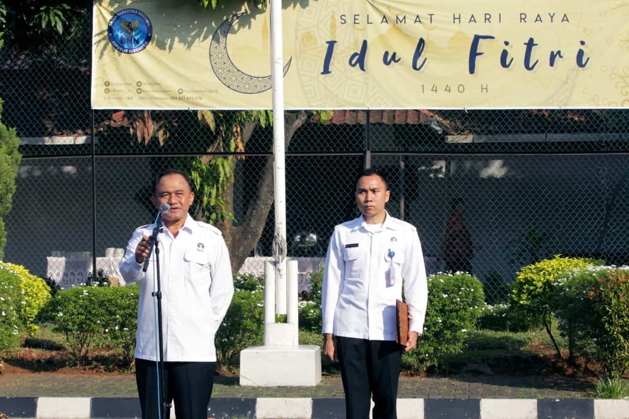Pelaksanaan Halal Bihalal Dilingkungan Badan Narkotika Nasional
