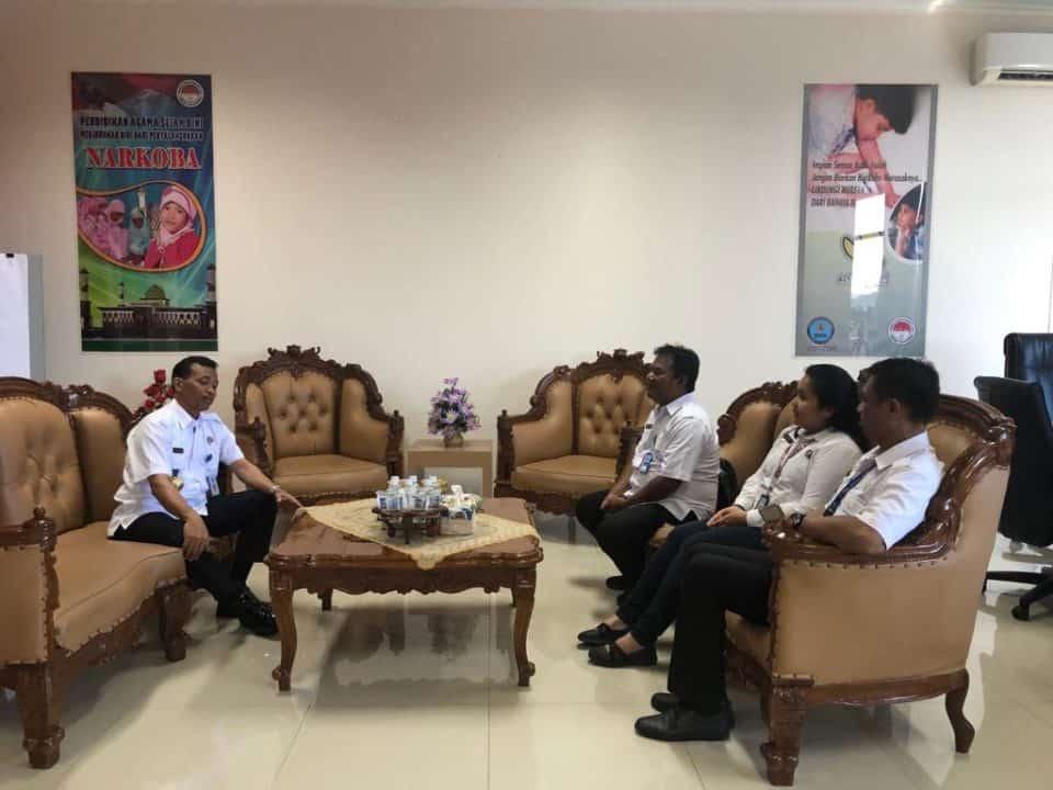 Verifikasi Sertijab Kepala BNN Provinsi Maluku Utara