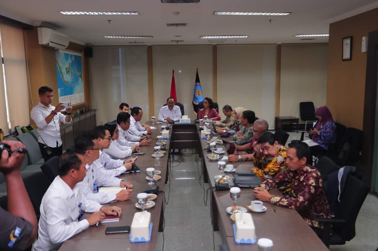 Pansel KPK Kunjungi BNN Pastikan Calon Komisioner KPK Bersih dari Narkoba