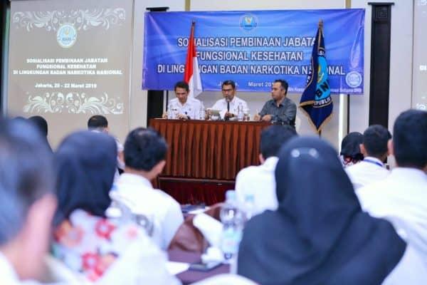 Sosialisasi Jabatan Fungsional Kesehatan di Lingkungan BNN Bangun Pemahaman dan Profesionalitas