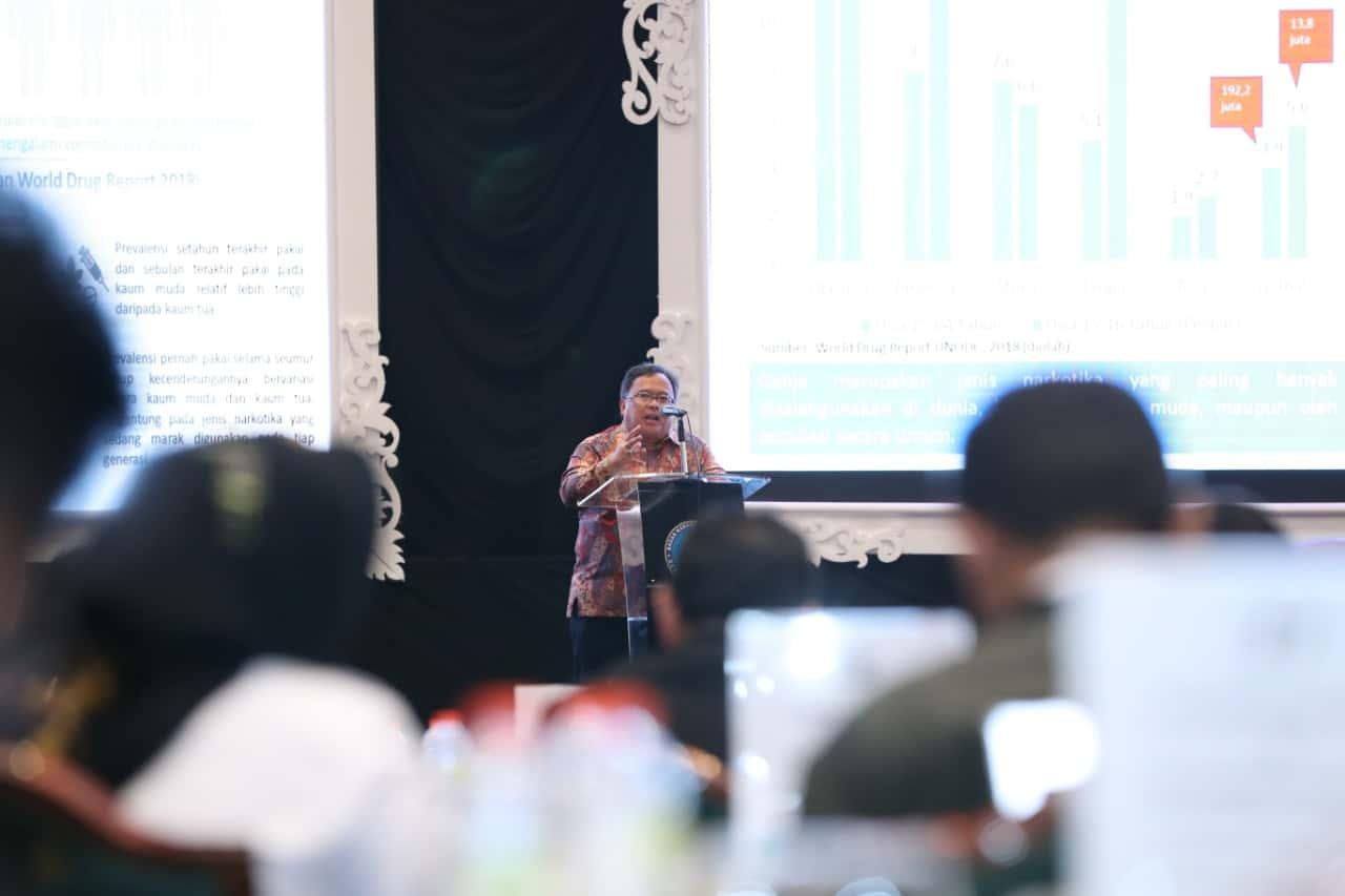 Koordinasi dan Peran Instansi Terkait Menjadi Fokus pada Rapimnas BNN 2019