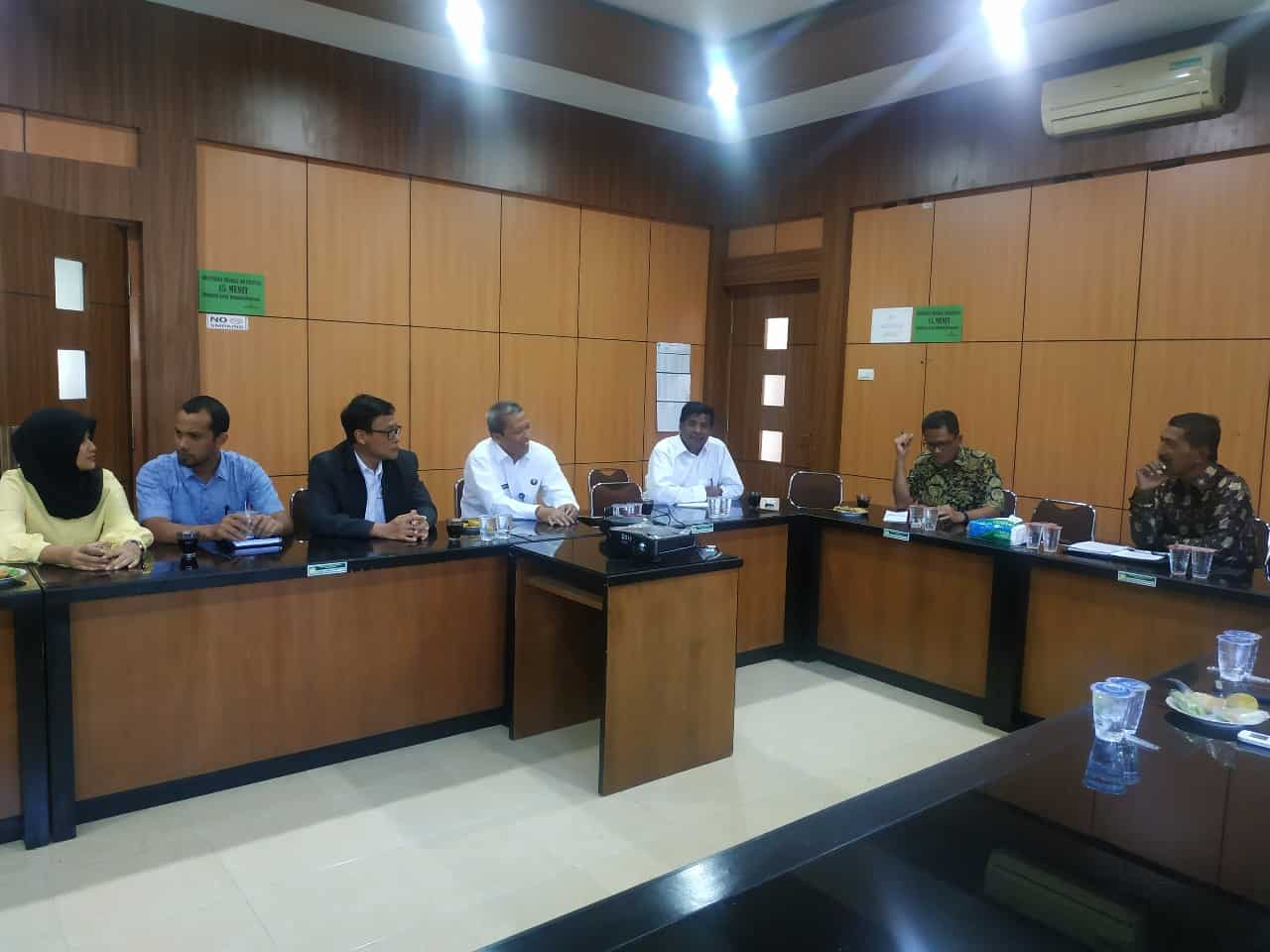 Kunjungan kerja dalam rangka Harmonisasi program GDAD bersama Stakeholder di Aceh