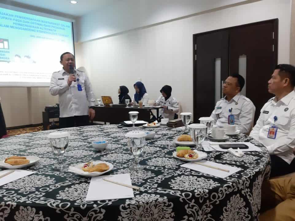 Direktorat Pemberdayaan Alternatif BNN Melaksanakan Kunjungan ke Pontianak