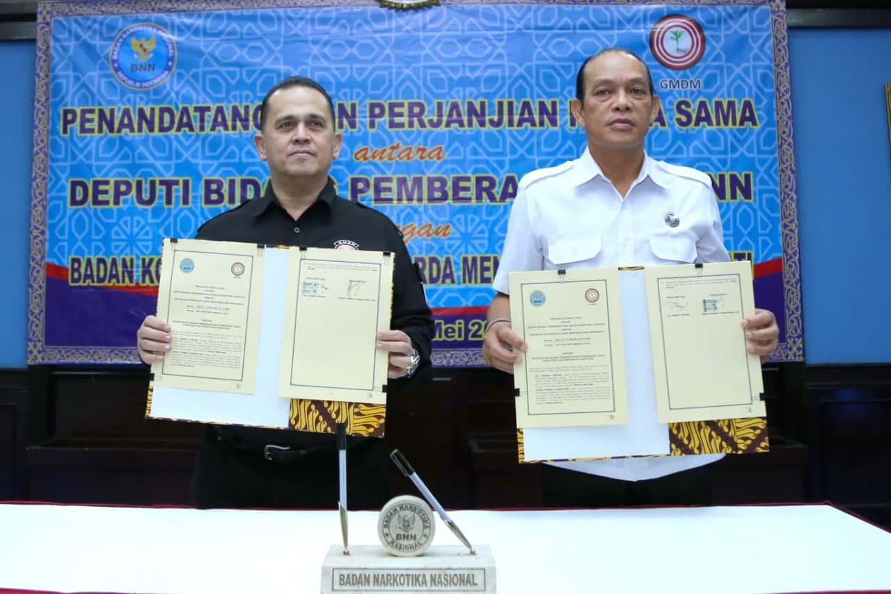 Wujudkan Indonesia Bersinar BNN Rangkul GMDM