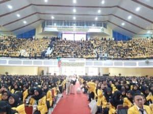 Pembekalan Motivasi Mahasiswa Baru Universitas Sriwijaya, Sumatera Selatan