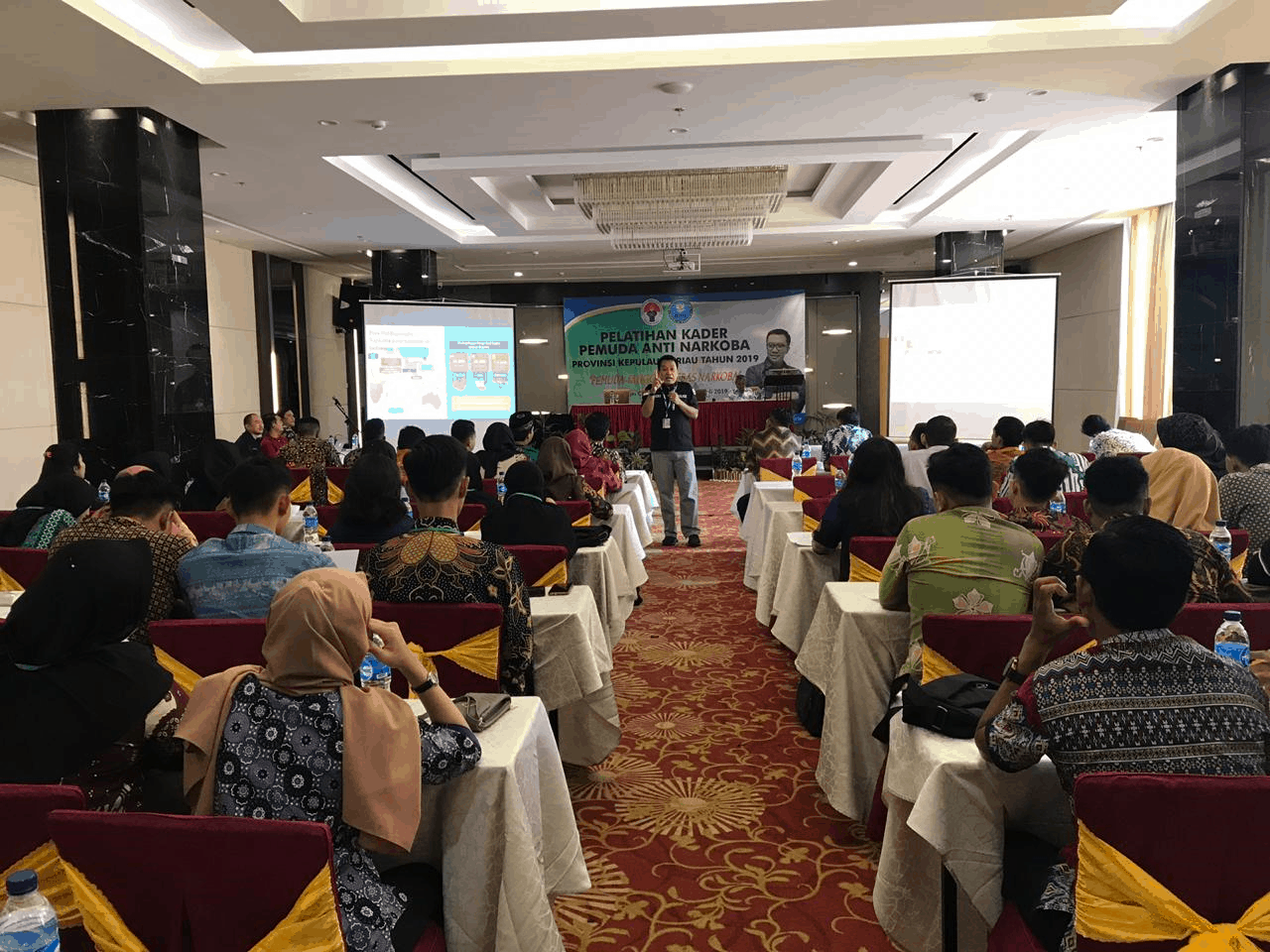 Pembentukan Kader Inti Pemuda Anti Narkoba Provinsi Kep. Riau