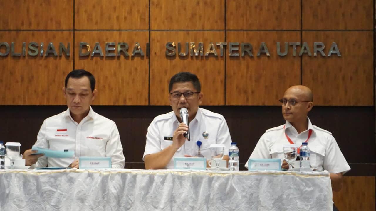 Kemenko Polhukam Gelar Rakor terkait RAN P4GN di Sumatera Utara