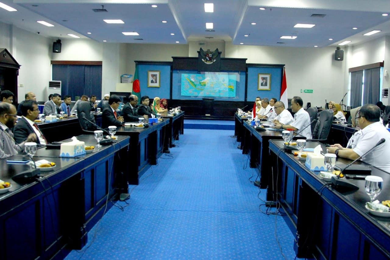 Pelajari Inovasi Layanan Masyarakat Delegasi Bangladesh Kunjungi BNN