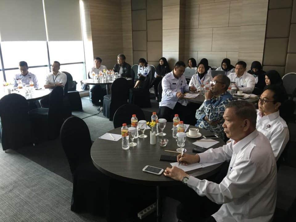 Rapat penyusunan kajian evaluasi dan restrukturisasi organisasi
