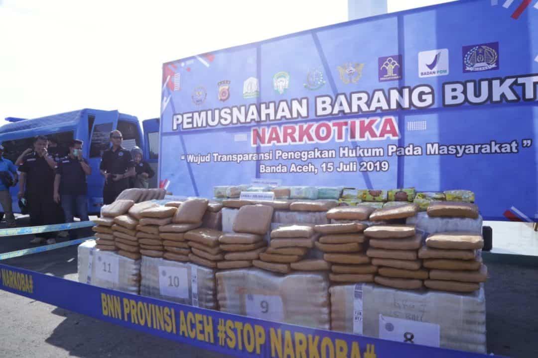 Musnahkan Barang Bukti Narkotika, BNN Selamatkan 350.566 Jiwa