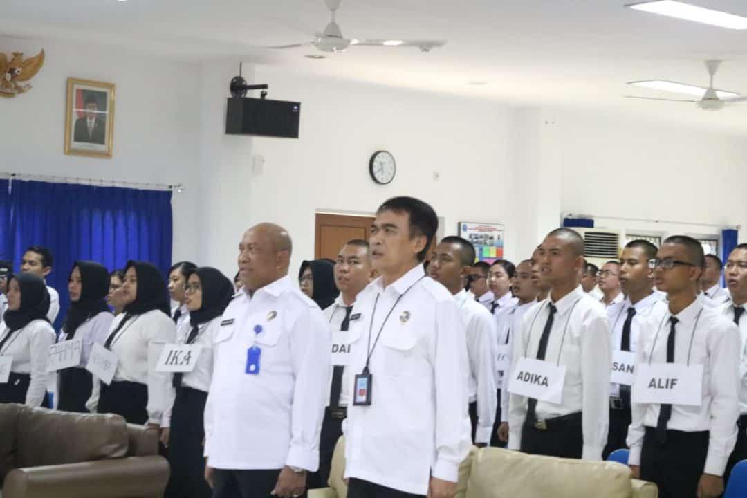 Pembukaan Pelatihan Dasar CPNS BNN Golongan ll Angkatan ll,lll dan lV Tahun 2019