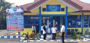 Kunjungan Inspektur Utama ke kantor BNNK Bengkulu