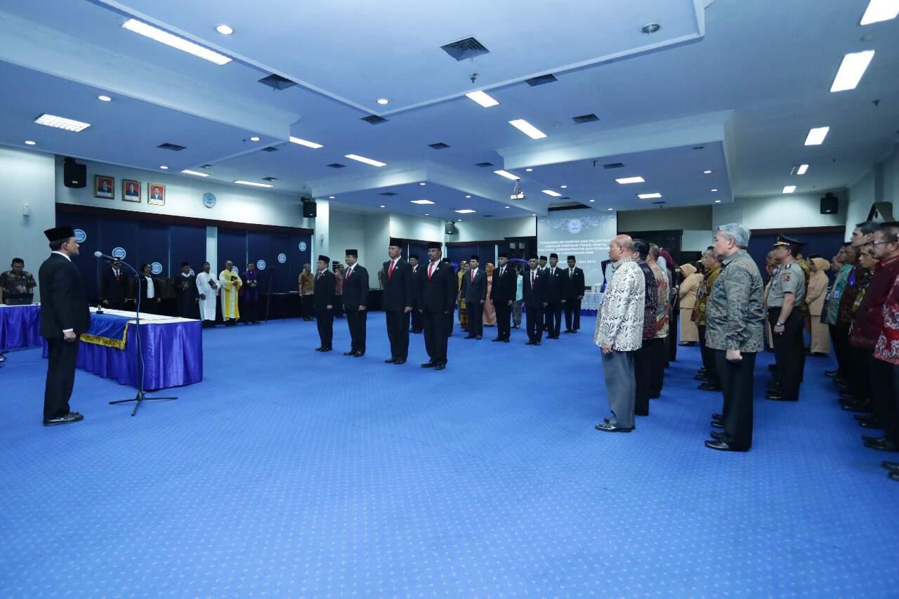Lantik Pejabat Baru, Kepala BNN Perintahkan Untuk Segera Bekerja