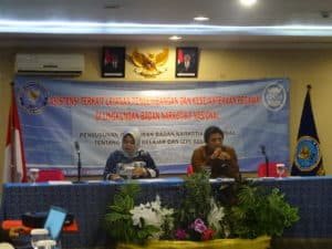 Biro Kepegawaian dan Organisasi Melaksanakan Kegiatan Penyusunan Peraturan Badan Narkotika Nasional Tentang Tugas Belajar Dan Izin Belajar