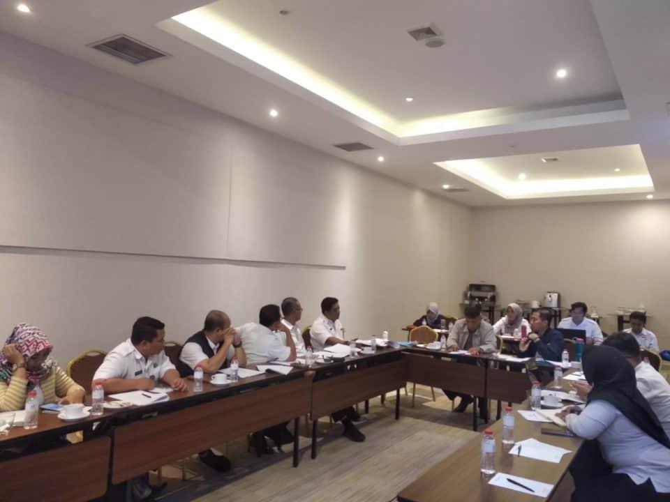 Finalisasi Rancangan Peraturan BNN tentang Penyelenggaraan Pengembangan Kompetensi