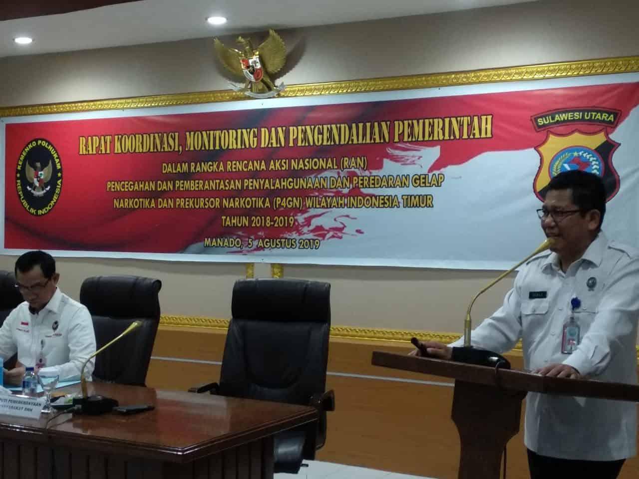 Rapat Koordinasi Pengendalian Rencana Aksi Nasional (RAN) P4GN Wilayah Indonesia Timur