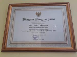 Loka Batam, Terima Penghargaan Responsif Terhadap Anak.