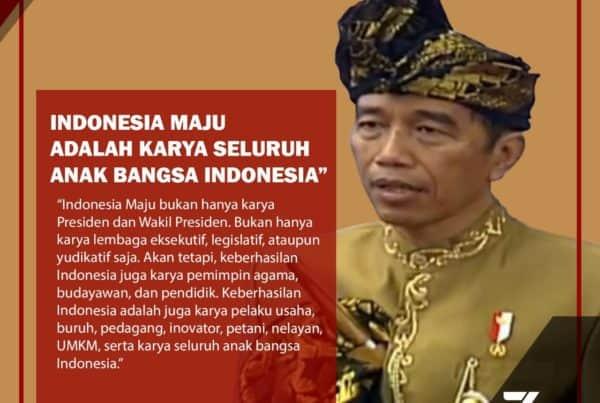 PIDATO (2) KEDUA PRESIDEN REPUBLIK INDONESIA DI DEPAN SIDANG TAHUNAN MAJELIS PERMUSYAWARATAN RAKYAT REPUBLIK INDONESIA TAHUN 2019