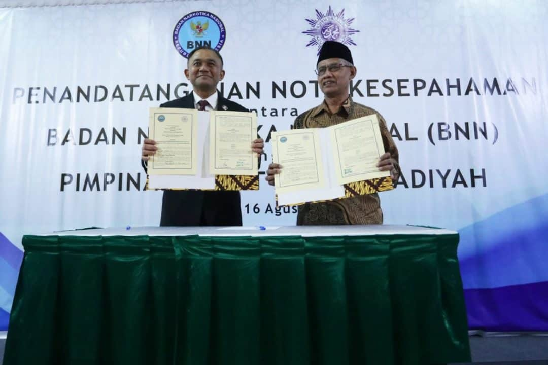 BNN – Muhammadiyah Sepakat Berantas Narkoba