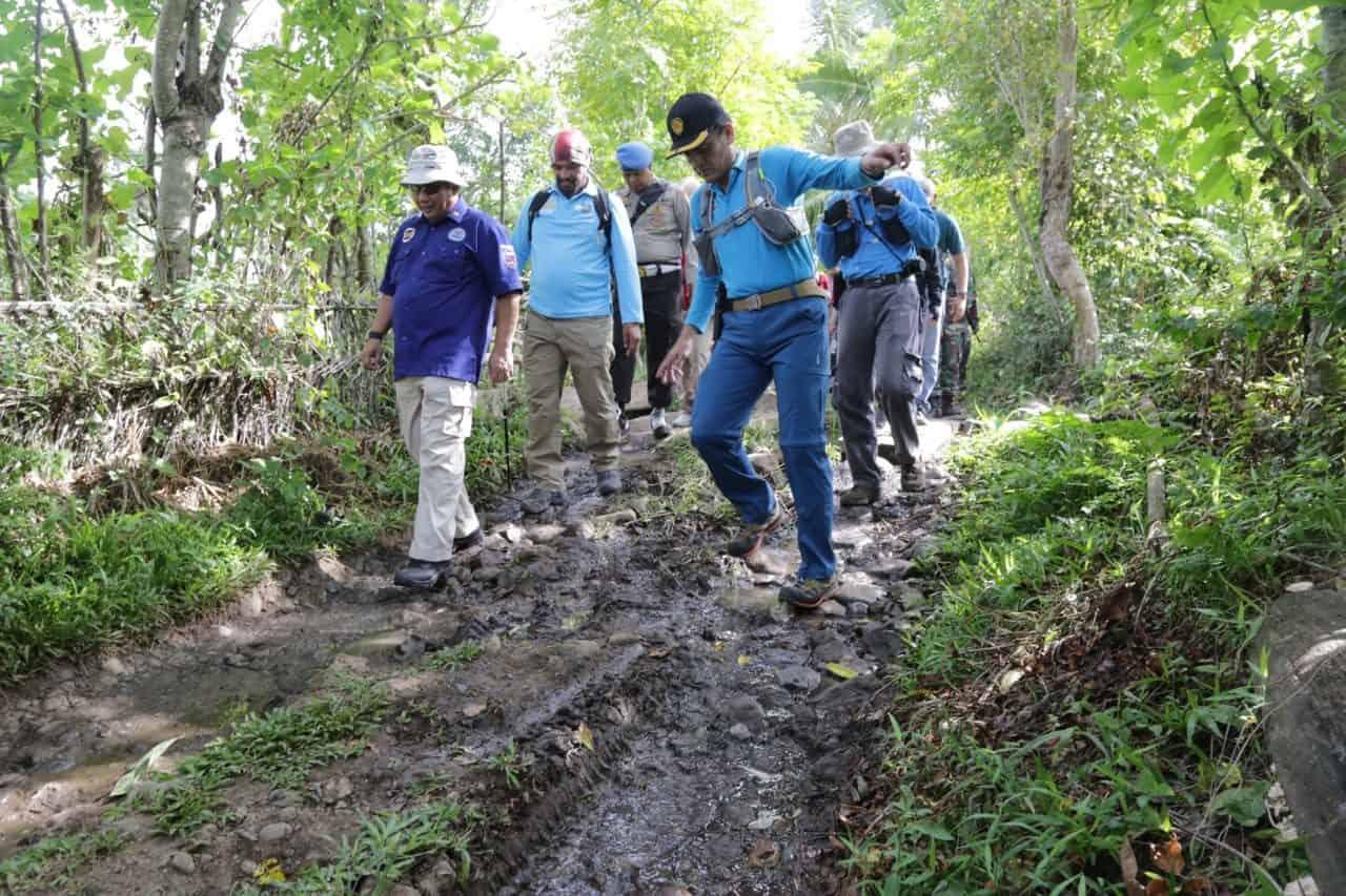 Lampaui Target, BNN Musnahkan Titik Ke -10 Ladang Ganja Di Aceh