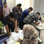 PT. Bussan Auto Finance Laksanakan Tes Urine Bagi Karyawannya