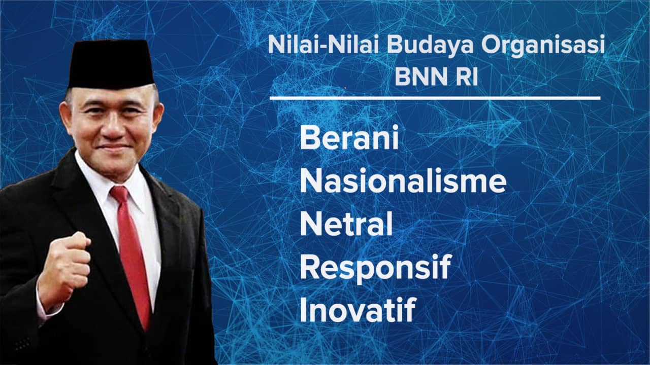 nilai nilai budaya organisasi bnn