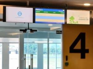 Pemanfaatan Media Digital Video Wall Dan Digital Banner Tentang Narkoba Di Bandara Diharapkan Memberikan Informasi Dan Edukasi Kepada Masyarakat