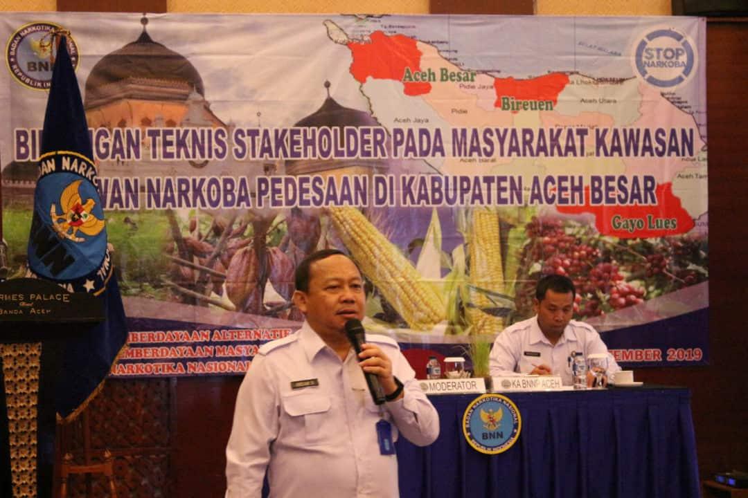 Direktorat Pemberdayaan Alternatif Mengelar Bimtek Stakeholder di Aceh Besar