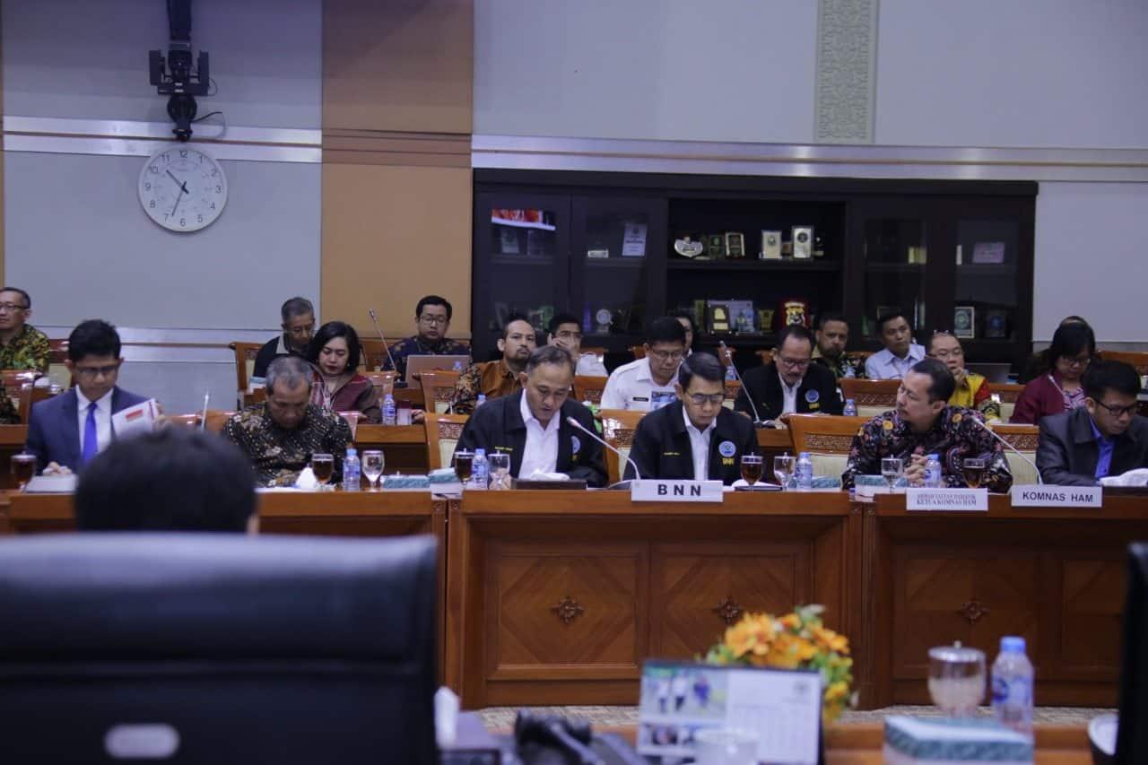 Penuhi Undangan Komisi III, BNN Sampaikan Kendala Di Lapangan
