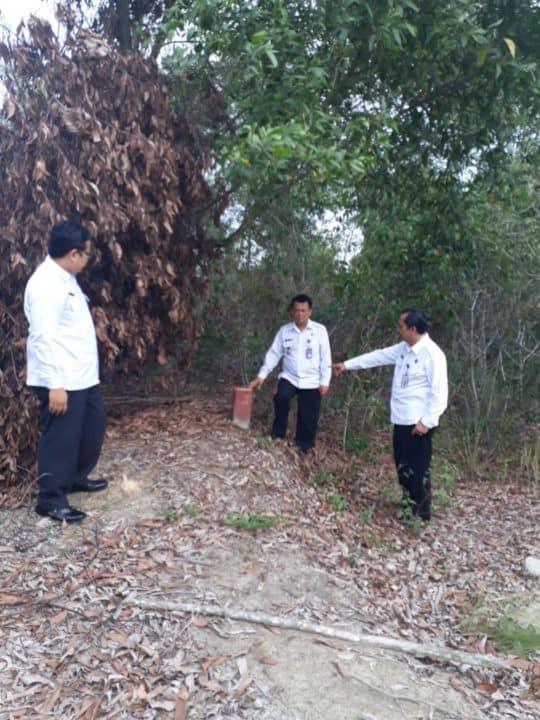 Cek Fisik Tanah Milik BNNK Karimun