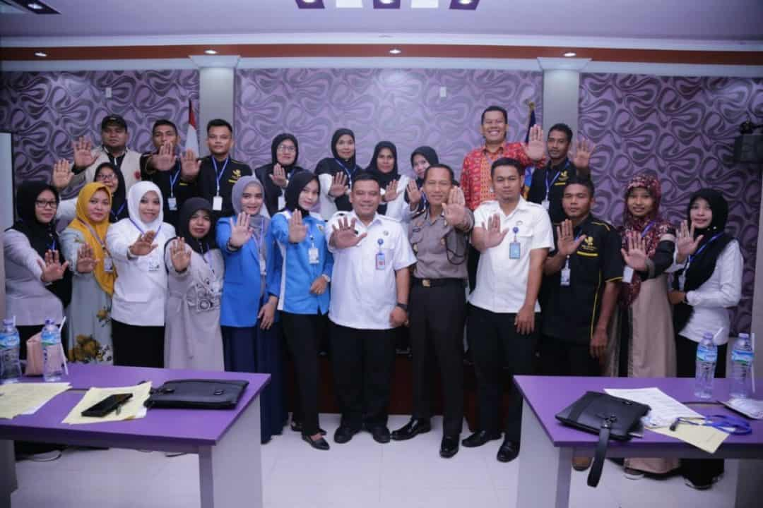 BNN RI Berikan Pelatihan P4GN Bagi Penggiat Anti Narkoba Lingkungan Masyarakat Di kab.Bireun Aceh