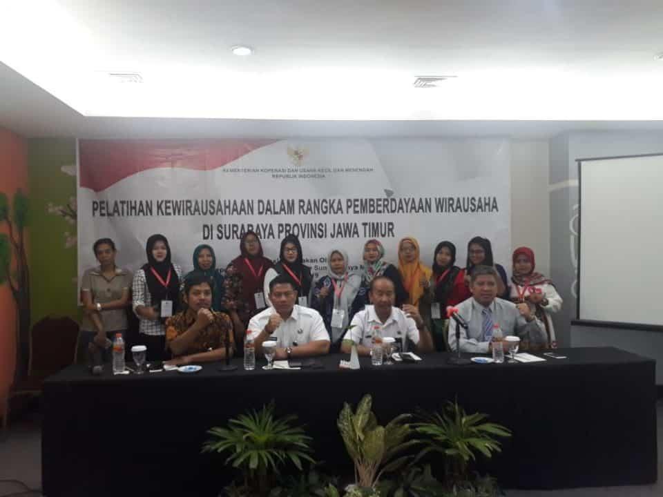 Kementerian UMKM Bersama BNN Beri Pelatihan Kewirausahaan di Kawasan Rawan di wilayah Jawa Timur