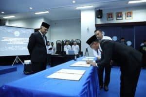 BNN Lantik Empat Pejabat Baru