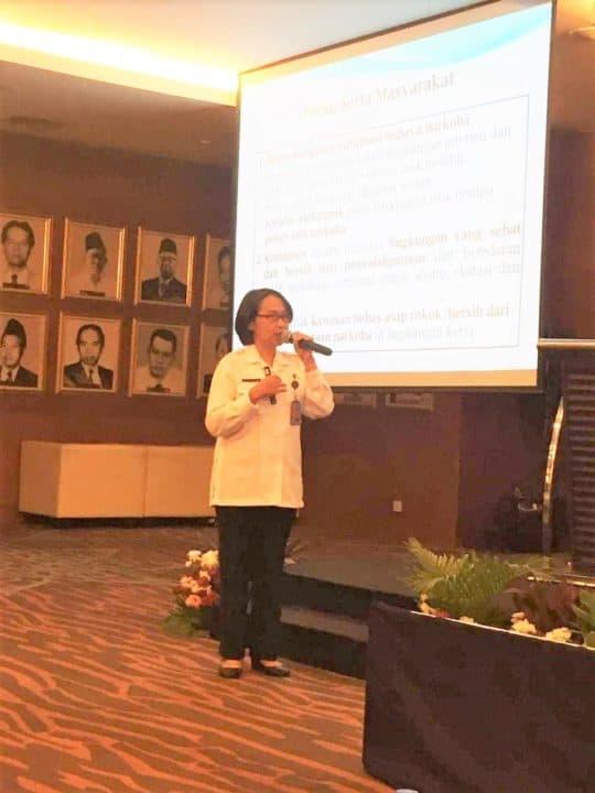 Kemendag RI Sosialisasikan P4GN dan Tes Urine Bagi Pegawainya