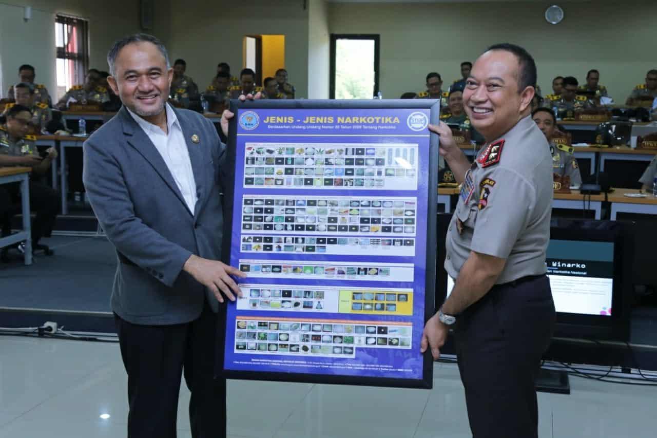 Kepala BNN Berikan Arahan Kepada Pamen Polri & TNI