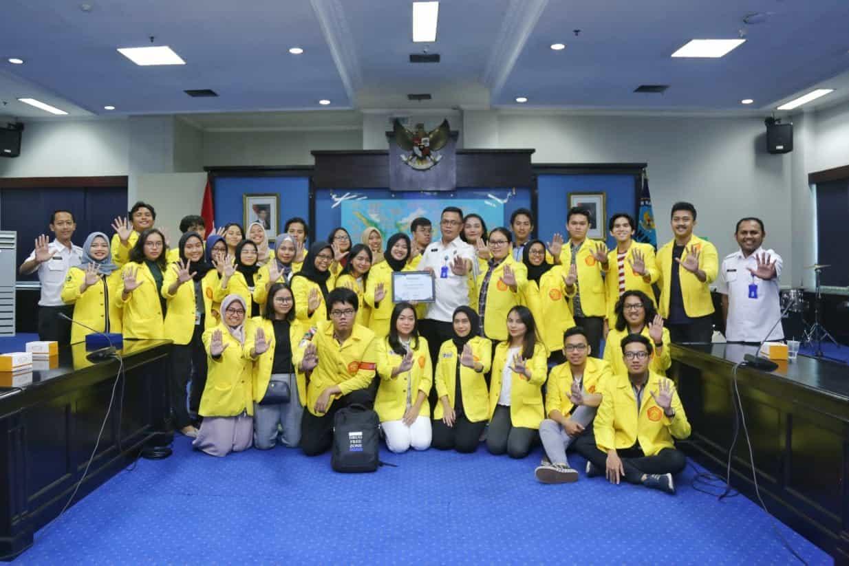 BNN Terima Kunjungan Himakrim Universitas Indonesia